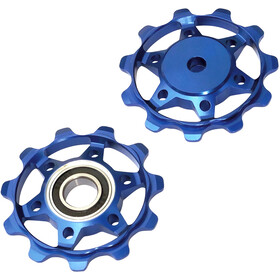 NC-17 Shimano / Sram pulleys set 11 teeth blue